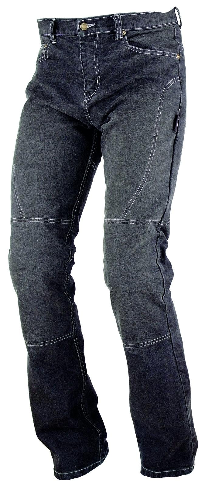 Jeans Donna Pantaloni Lady Moto Protezioni Omologate Rinforzi Aramid nero