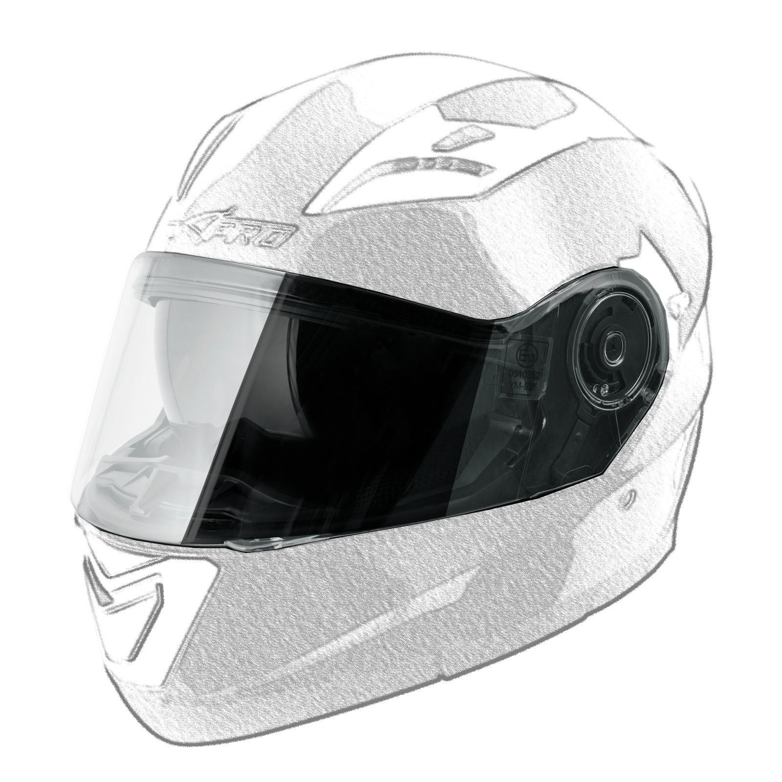 LANCER_Casco_Helmet_Moto_Motorcycle_Black_A-Pro_Visor