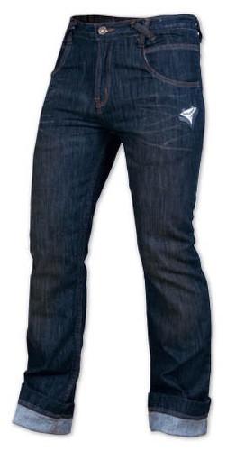 Jeans Casual Moto Scooter Custom Classico 5 Tasche No Protezioni