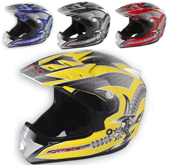 Casco integrale Moto Cross Enduro Motard Quad ATV Offerta Sonic Moto