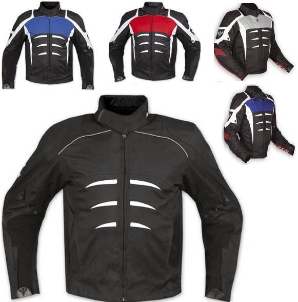 Giacca Sportiva Moto Tessuto Sfoderabile Gilet Termico Protezioni Omologate