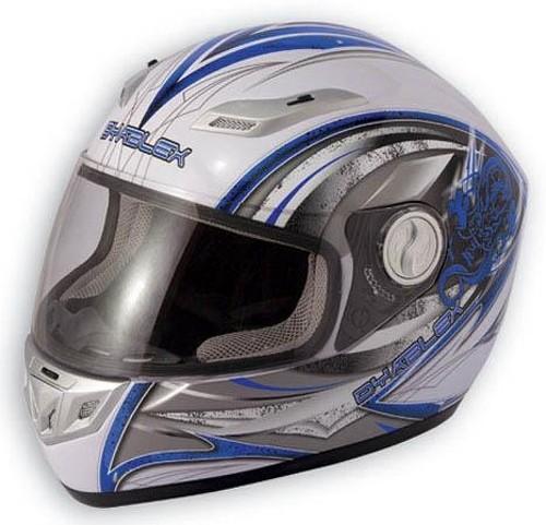 Casco Fibra Integrale Moto Sport Pista Omologato Racing Sportivo Leggero