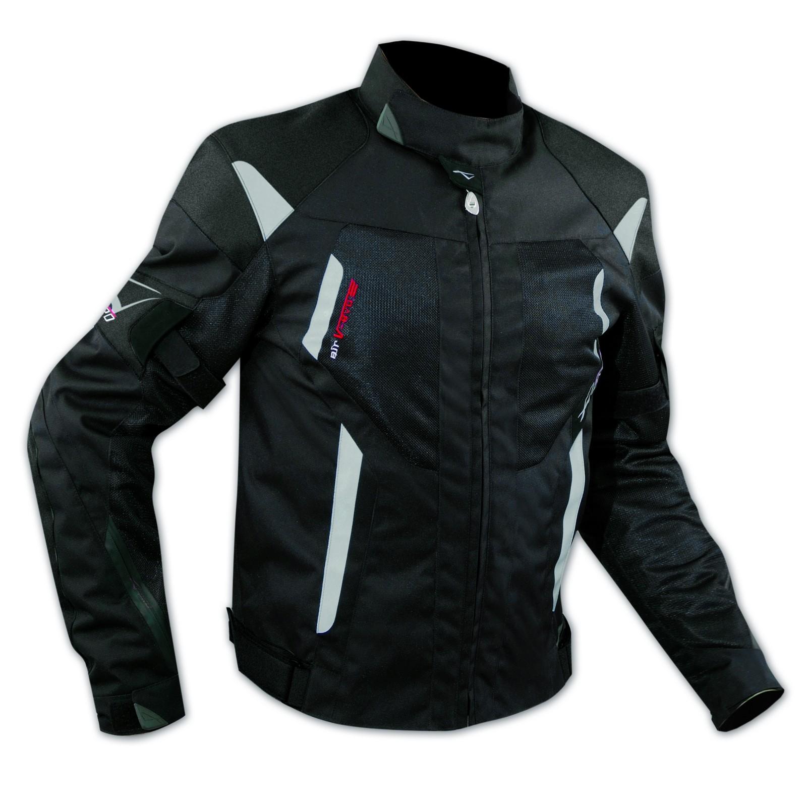 vendite calde 79e28 09e32 Giacca Moto Tessuto Cordura Mesh Rete Traforata Protezioni CE Omologate Nero