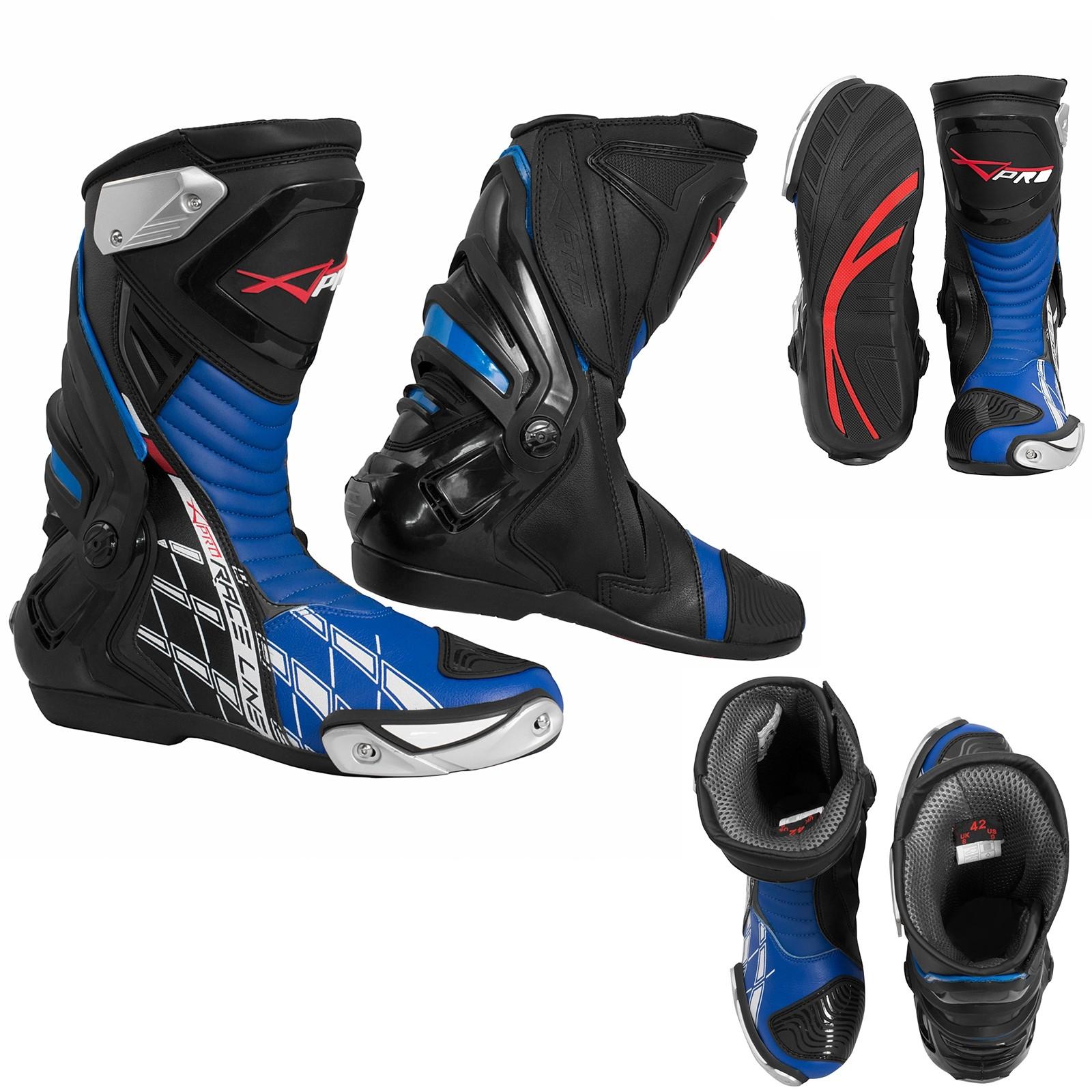 Supertech-Boots-Stivali-Motorcycle-Blue-Blu-Sonic-Moto-A-Pro-Set