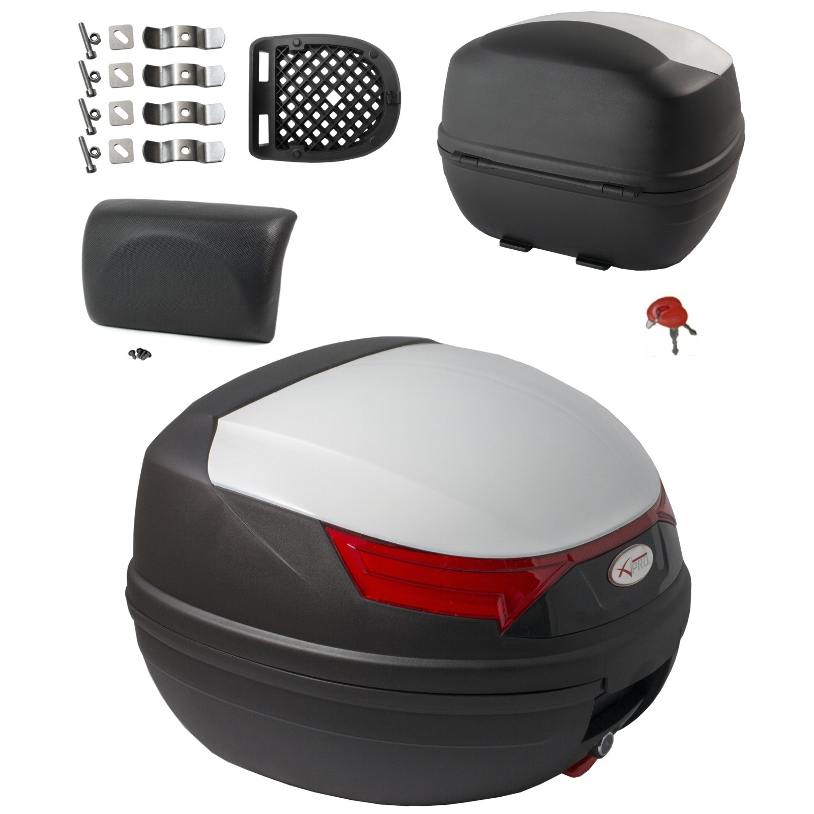 Variant-a-pro-bauletti-top-case-moto-motorcycle-sonic-moto_piastra_kit_Bianco