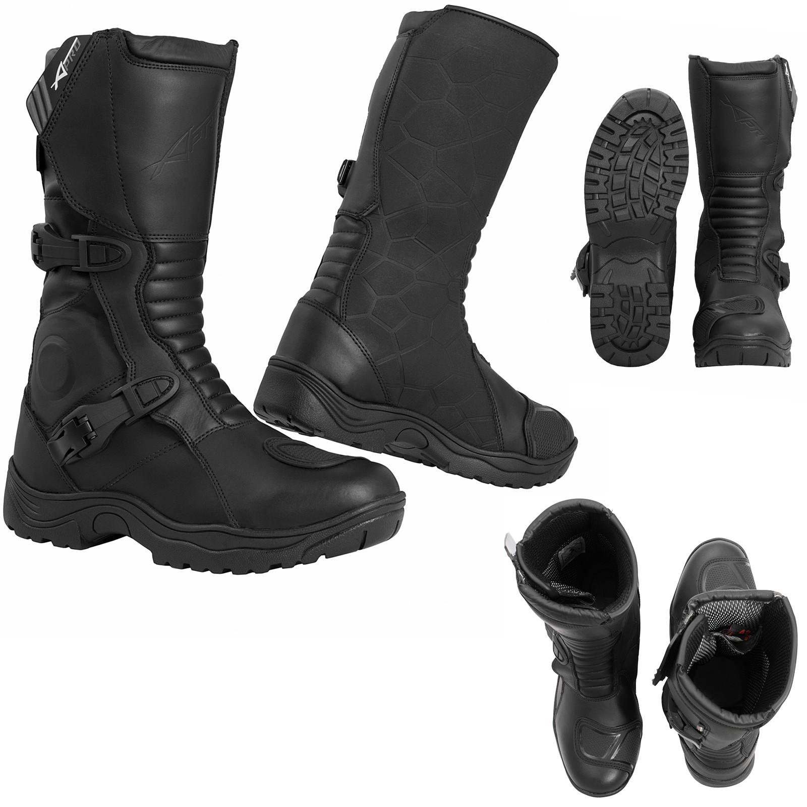 Vertigo-Boots-Stivaletti-Motorcycle-Nero-Black-A-Pro-Sonic-Moto-Set