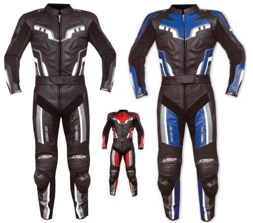 Tuta Intera Divisibile Pelle Moto Sport Turismo Protezioni Omologate