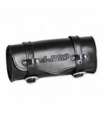Borsa Moto Custom Barilotto Porta Attrezzi Chopper Nero