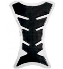 Adesivo Protezione Serbatoio Resina 3D Paraserbatoio Moto Naked Touring Carbon