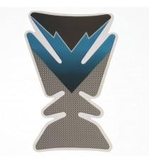 Adesivo Protezione Serbatoio Moto Touring Naked Resina 3D Paraserbatoio Carbon