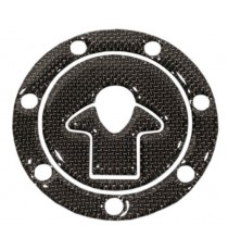 Adesivo Tappo Serbatoio Resina 3D Kawasaki 7 Fori Adesivi Moto Stickers Carbon