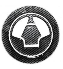 Adesivo Tappo Serbatoio Resina 3D Adesivi Moto Kawasaki Stickers Carbon