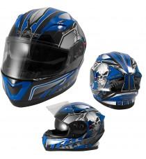 Alliance-Casco-Helmet-Motorcycle-Blu-Blue-Sonic-Moto-A-Pro-Set