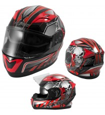 Alliance-Casco-Helmet-Motorcycle-Red-Rosso-A-Pro-Sonic-Moto-Set