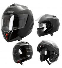 Balance-Casco-Helmet-Motorcycle-Nero-Black-Sonic-Moto-A-Pro-Set