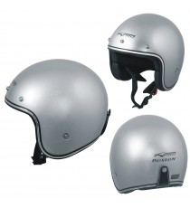 BOSTON_Casco_Helmet_Moto_Motorcycle_Silver_A-Pro