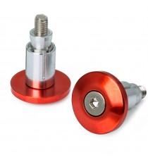 Contrappesi Moto Scooter Manubrio Stabilizzatori Bilancieri Universali Rosso