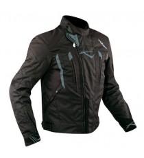 Giacca Cordura Moto Tessuto Impermeabile Sport Termica Sfoderabile Nero