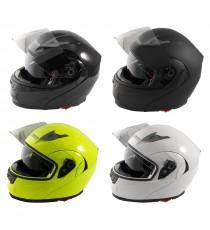 Casco Modulare Apribile Moto Touring Visiera Interna Parasole Viaggio
