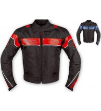 Giacca Sportiva Moto Tessuto Naked Custom Protezioni Omologate CE