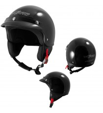 Gravity-Casco-Jet-Helmet-Motorcycle-Nero-Black-Sonic-Moto-A-Pro-Set