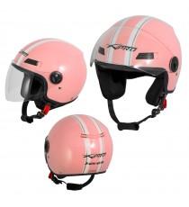 Jet Helmet Fever A-Pro Casco Pink Sonicmotoshop