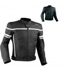Giacca Giubbino Moto Pelle Sfoderabile Sport Custom Naked Protezioni Omologate
