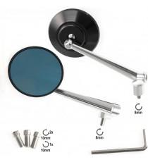 SR-4410 a-pro specchio nero mirrors silver