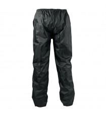 Pantaloni Antipioggia Impermeabili Antiacqua Foderato Inserti Riflettenti Moto