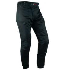 Pantaloni 3 Strati Moto Tessuto Cordura Impermeabile Sfoderabile Termico