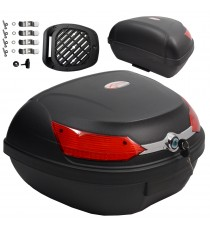 Toronto nero a-pro bauletti top case black moto motorcycle sonicmotoshop