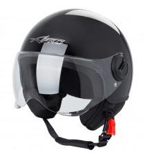 Zoom-Helmet-Casco-Sonic-Moto-A-Pro-Motorcycle-Black-Nero-Front