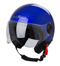 Zoom-Helmet-Casco-Sonic-Moto-A-Pro-Motorcycle-Blue-Blu-Front