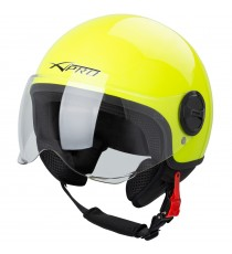 Zoom-Helmet-Casco-Sonic-Moto-A-Pro-Motorcycle-Fluo-Giallo-Front