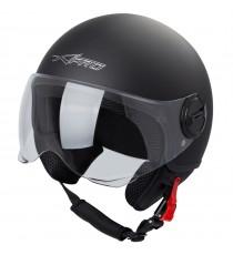 Zoom-Helmet-Casco-Sonic-Moto-A-Pro-Motorcycle-Matt-Black-Nero-Opaco-Front