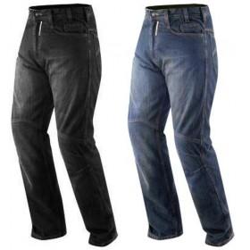 Jeans Moto Pantaloni Protecioni Omologate CE Ginocchia Rinforzi Fianchi