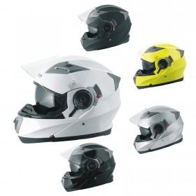 Casco Modulare Apribile Moto Touring Sport Visiera Parasole