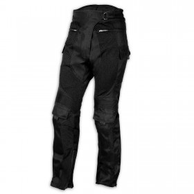 Pantaloni Moto Jeans Mesh Tessuto Cordura Traforato Estivo Protezioni CE