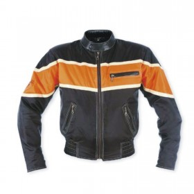 Giacca Moto Tessuto Interno termico Custom Chopper Naked Oxford Nylon