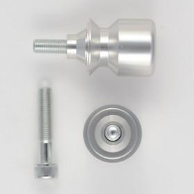 Coppia Supporti Cavalletto Accessori Alzamoto Nottolini Moto Vite M 10 Alluminio