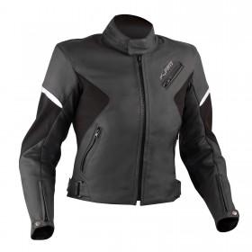 Giacca Donna Pelle Moto Lady Custom Naked Protezioni Omologate CE Sfoderabile