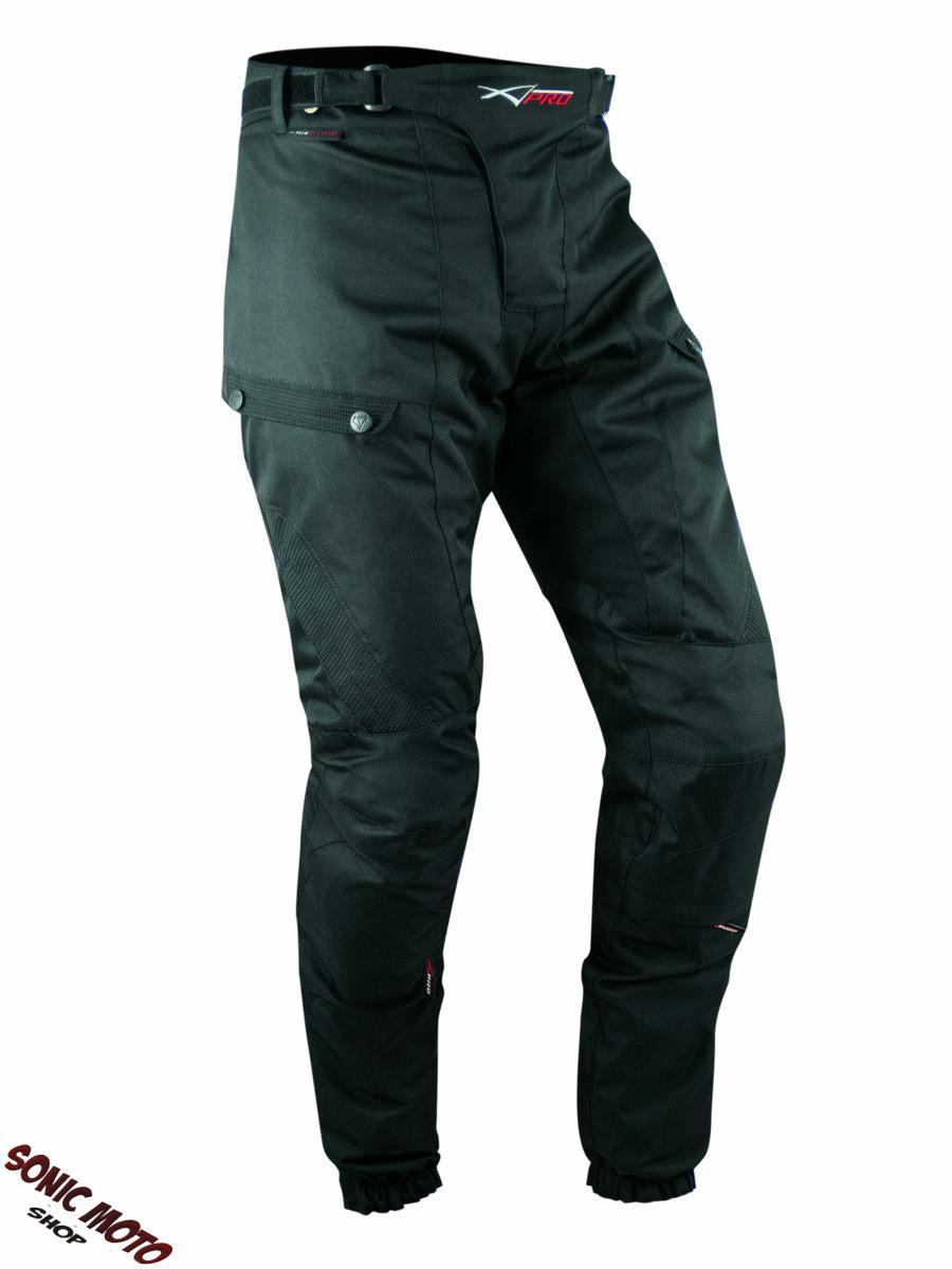 Pantaloni-3-Strati-Moto-Tessuto-Cordura-Impermeabile-Sfoderabile-Termico