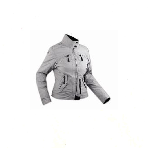Moto-chaqueta-Mujeres-impermeable-interno-extraible-CE-protectores-Gris