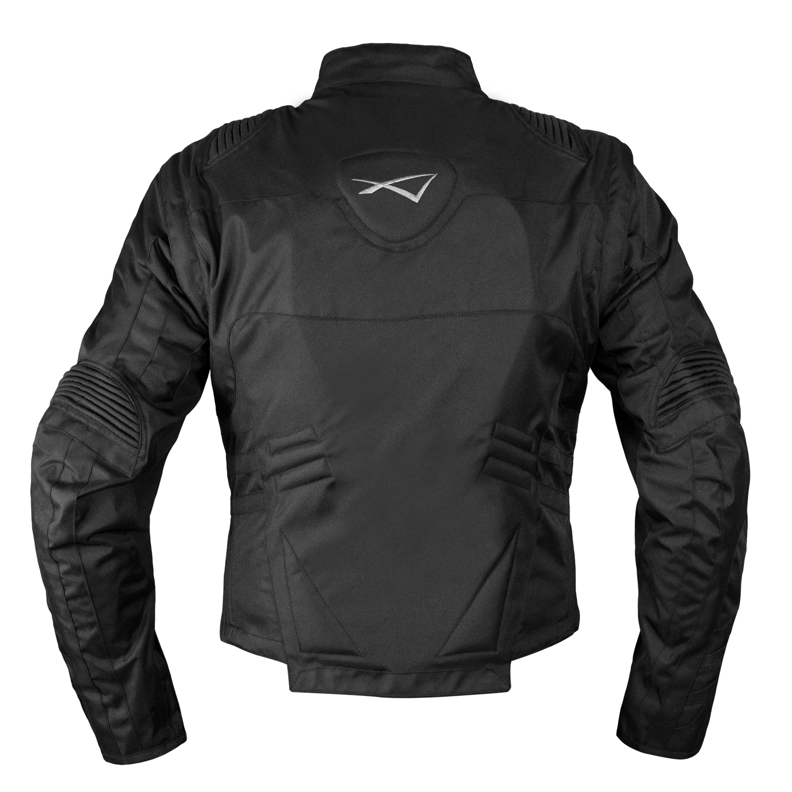 Giacca-Moto-Tessuto-Cordura-Manica-Staccabile-Racing-Sport-Touring-Scooter