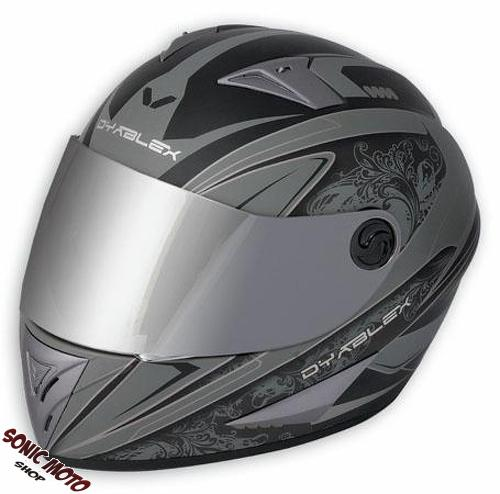 casque integral visage entier moto motard route piste honda yamaha dyablex ebay. Black Bedroom Furniture Sets. Home Design Ideas