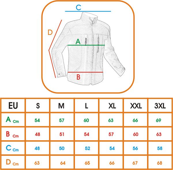 Blouson-Nylon-Impermeable-Etanche-Respirant-Protections-Homologuees-CE-Vert miniature 4