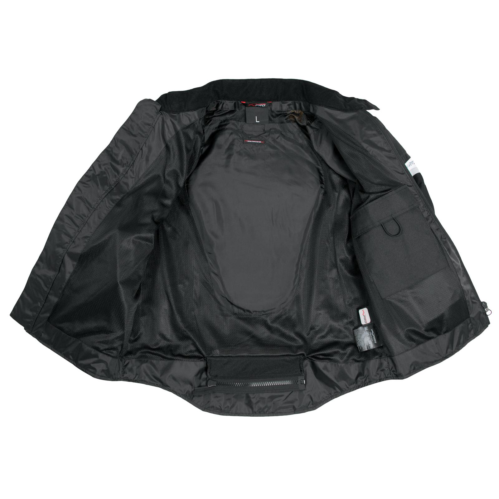 Giacca-Moto-estiva-Tessuto-Rete-Mesh-Traspirante-Protezioni-CE-Omologate