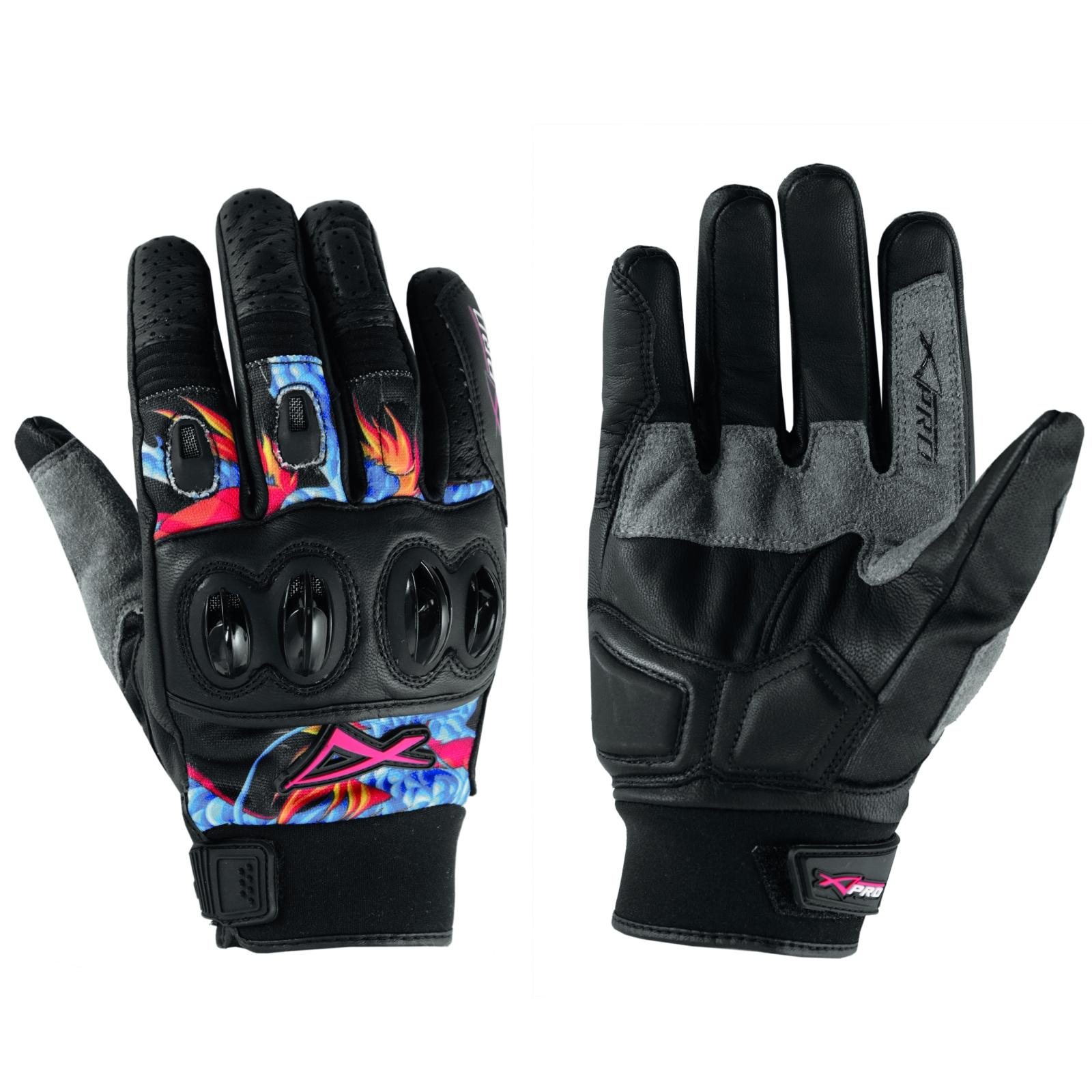 Guantes-Piel-tela-transpirable-Tecnico-Summer-Moto-Honda-Kawasaki-Yamaha