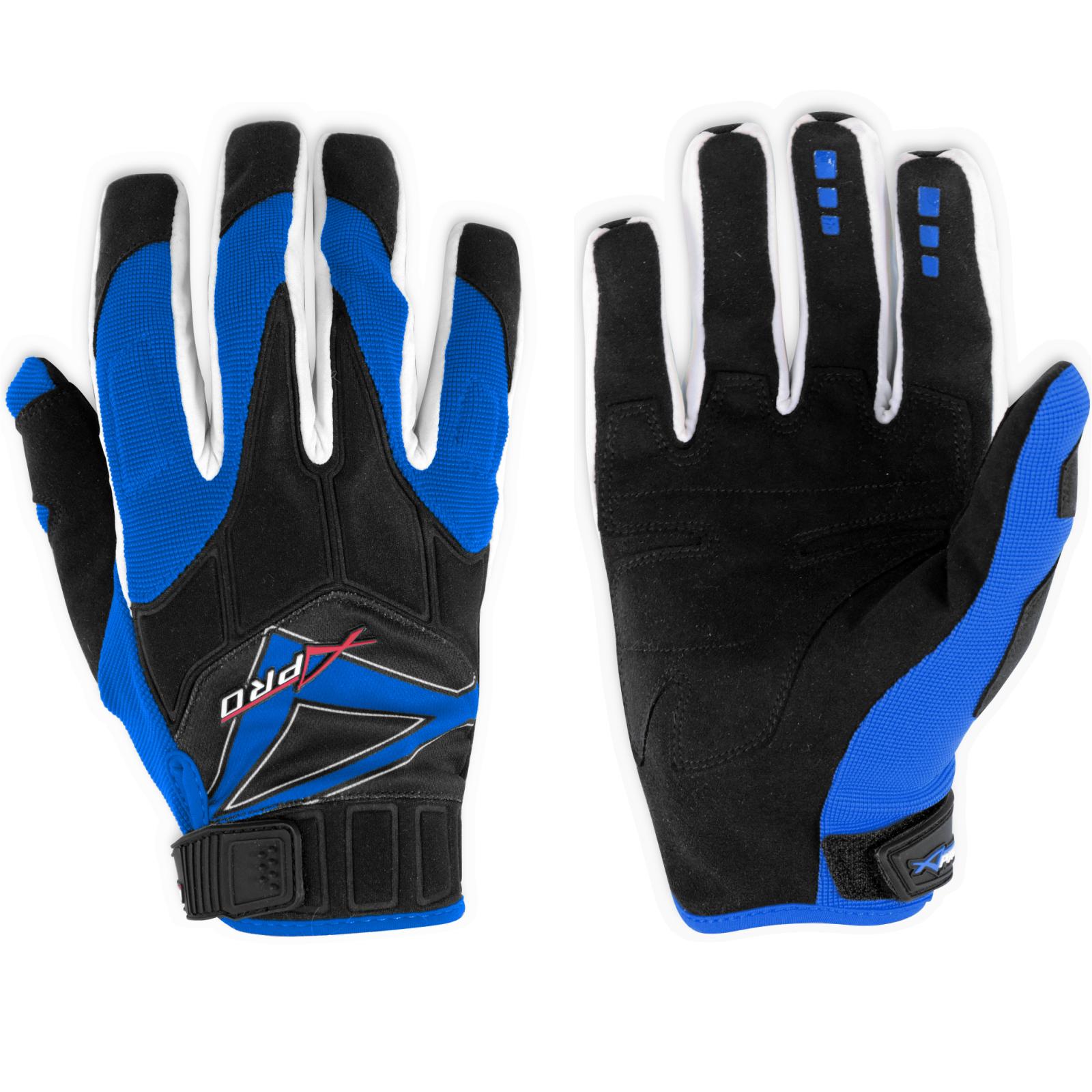 Guanto-Motocross-Enduro-Quad-ATV-Tessuto-Traspirante-Estivo-Protettivo