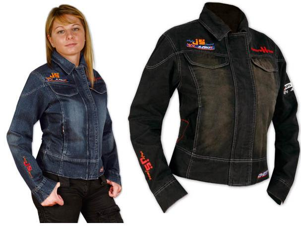 blouson jeans femme moto motard scooter coton et mi saison sport zip bouton ebay. Black Bedroom Furniture Sets. Home Design Ideas